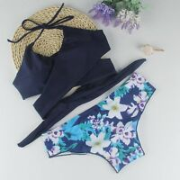 2017 New Women Bandage Bikini Set Push-up Padded Swimsuit Bathing Suit Swimwear