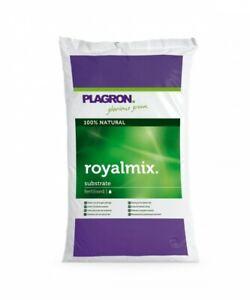 Plagron Royal Mix 50 Litre Substrate Fertilised Grow Mix Hydroponics 100% Bio