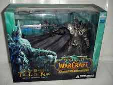 World of Warcraft WoW Arthas Menethil Lich King Deluxe Action Figure Statue NIB
