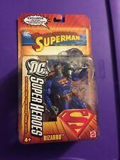 """DC SUPER HEROES 6"""" ACTION FIGURE BIZARRO MATTEL *Read*"""