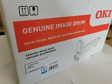 Genuine Original Oki C612 Imaging Drum- Cyan 46507307, Free Delivery