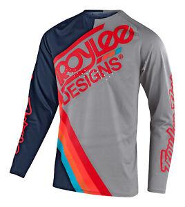 Troy Lee Designs SE Pro TILT Jersey - Navy / Light Gray