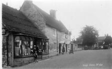 High Street Shop Pub Wylye Nr Wilton Warminster unused RP old pc