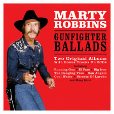 Marty Robbins Gunfighter Ballads Country Music Album with Bonus Tracks on 2 CDs