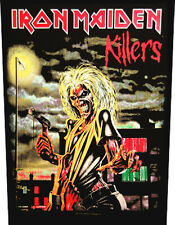 IRON MAIDEN - Rückenaufnäher Backpatch - Killers
