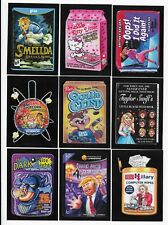 2017 Topps Wacky Packages 50th Anniversary Trading Card Set  90 CARDS