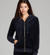 Juicy Couture Modern Fit Tracksuit Jacket Hoodie Regal Navy Blue L