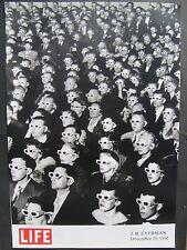 Eyermann  Dezember 15, 1952 Movie Viewers LIFE, Poster 60 x 86 cm