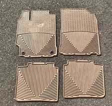 2012 2013 2014 2015 2016 2017 Toyota Camry WeatherTech All Weather Rubber Mats