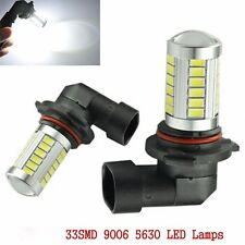 12V 9006 HB4 5630 33 LED White Car Fog Light Headlight Driving DRL Light Bulb