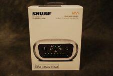 Shure MVI Digital Audio Interface Apple iOs Mac PC iPhone iPad NEW Dealer USB