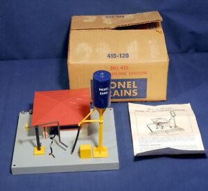 Lionel Trains #415 Diesel Fueling Station Sunoco Never Used Original Box Instr.