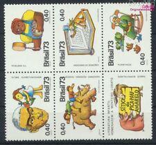 Brasilien 1396-1400 Sechserblock (kompl.Ausg.) postfrisch 1973 J. Mont (9233676