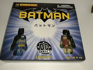 Medicom Toy Kubrick Batman DC Direct Exclusive 5 Figures MISB FREE SHIPPING