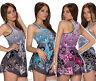 Longtop Bluse Tunika Top Shirt Longshirt Minikleid Butterfly Lagenlook