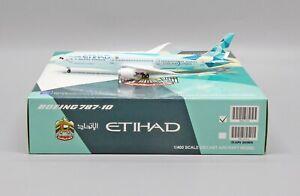 Etihad B787-10 Reg: A6-BMH JC Wings Scale 1:400 Diecast model XX4300