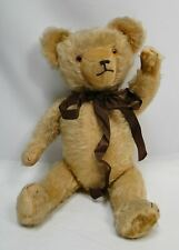 Great vintage mohair Hermann bear blonde
