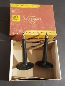 NEW IN BOX Vintage Bridgeport Hand Bendable Valves Advertising Display