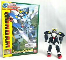 Mobile Fighter Gundam Action Figure Shadow Gundam 1994 Bandai Made in Japan