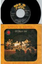 STORMY SIX Sotto il bam-bu 45rpm 7' + PS 1972 ITALY PROG EX+