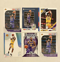 Lebron James Lakers Card Lot (6 Cards) NBA Hoops / Donruss / Status