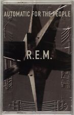 R.E.M.: Automatic for the People SEALED REM USA Cassette Tape NEW Yellow OG