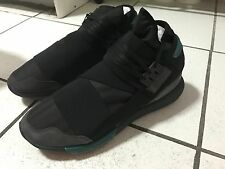 Y-3 Qasa High Black Charcoal Gray US 11.5 Yohji Yamamoto Adidas Y3 New 400+