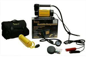 T-MAX Heavy Duty 12V Portable Air Compressor Ideal for 4X4 Land Rover ETC