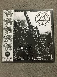 "The True Werwolf Battlmoon Invocation Live 7"" Satanic Warmaster Japanese Edition"