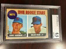 1968 Topps Baseball #177 NOLAN RYAN ROOKIE (CENTERED)...........BVG 6.5