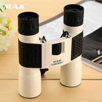 30x40 HD Boating Telescope Binocular Digital Zoom Vision with Carrying Bag