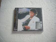 MICHAEL JACKSON / THRILLER - JAPAN CD NEW