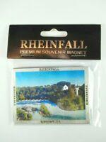 Rheinfall Schaffhausen Premium Souvenir Magnet,Schweiz,Laser Optik