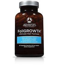FoliGROWTH Hair Growth Vitamin Promotes Thickest Strongest Hair Growth - 90 Caps