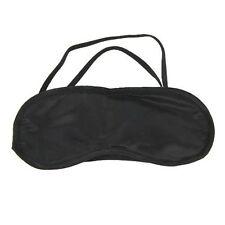 2 x Soft Black Sleep Sleeping Eye Mask Blindfold Travel Aid Rest Night Shade