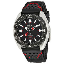 Seiko Prospex Kinetic GMT Black Dial Stainless Steel Mens Watch SUN049P2