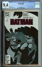BATMAN #407 CGC 9.4 YEAR ONE PART 4