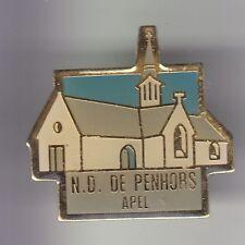 RARE PINS PIN'S .. TOURISME BRETAGNE EGLISE CHURCH ND PENHORS POULDREUZIC 29 ~DK