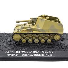 Wespe Sd.Kfz. 124 German Artillery WWII 1943 Year 1/72 Scale ALTAYA Model Tank