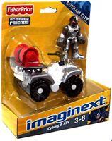 Imaginext DC Super Friends Figure - Mini ATV with Cyborg
