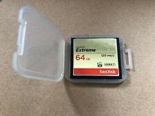 SanDisk Extreme CompactFlash 64 GB 120 MB/s UDMA 7