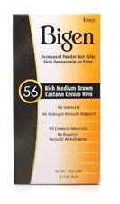 Bigen Permanent Powder Hair Color 56 Medium Brown 1 ea (Pack of 2)