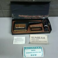 Vintage Sunbeam Power Breeze Mens Dryer and Styler (a321)
