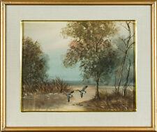 Originale antike Aquarelle (bis 1945) mit Landschafts- & Stadt-Motiv