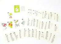 Whitman Help Yourself Flashcards Phonics Vintage USA Illustrated Card Game