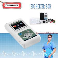 CE 24 HOURS 3-CH Sistemi dinamici ECG / EKG HOLTER + PC SOFTWARE Dynamic SYSTEM
