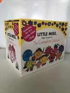 MR MEN LITTLE MISS BOOKS ~ BOX SET ~ LITTLE MISS LIBRARY THE COMPLETE COLLECTION