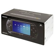 Sony PlayStation Portable Core PSP 1000 Black Handheld PSP-1001 Very Good 2Q