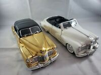 Diecast -1/18 Anson 1947 Cadillac Series 62 Gold or White