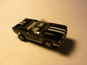 Model Motoring FORD MUSTANG Convertible Slot Car with  Original T-Jet Chassis